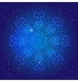 Symbol of sacred geometry depict fundamental vector image vector image