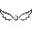 Wings icons vector image vector image