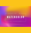 abstract multicolored bright gradient mesh vector image vector image