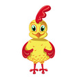 Cheerful Cockerel vector image vector image
