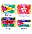 flags of the world vector image vector image
