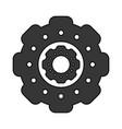 gear icon image vector image vector image