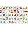 Infographic layouts mega collection vector image vector image