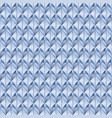 pattern blue scaly vector image