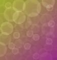 Abstract circular bokeh background vector image