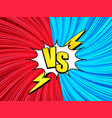 comic fight concept vector image vector image