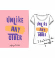 fashion print for t shirt or pajamas vector image