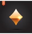 game rhombus icon Eps10 vector image