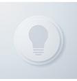 lightbulb vector image vector image