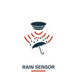 rain sensor icon from sensors icons collection vector image vector image