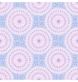 Trendy pink and blue colors dotted circles vector image vector image