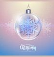 winter seasonal holiday christmas background vector image