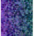 Abstract triangle mosaic tile background vector image vector image