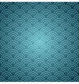 Blue Orient pattern vector image