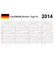 Calendar 2014 German Type 19