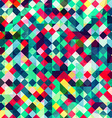colored pixels seamless pattern vector image vector image