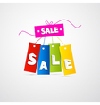 Labels Tags Sale Set vector image vector image