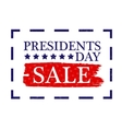 Presidents Day Sale Icon stock