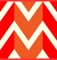 the pattern in which the red orange and white vector image vector image