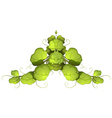 A green leafy plant vector image vector image