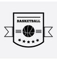 Basketball logo design vector image vector image