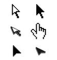 computer cursor vector image vector image