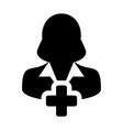 create new user icon female person profile avatar vector image