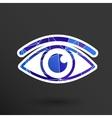Eye icon vision symbol look graphic vector image