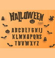 Halloween font original typeface scary creepy