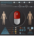 Health And Medical Infographic Infocharts vector image vector image