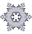 Mandala Flower decorative element vector image vector image