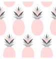 Pink Pineapples Pattern vector image