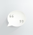 Quotation Marks vector image vector image