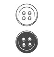 vintage sewing buttons concept vector image vector image