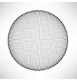 Circle Isolated on White Background vector image