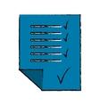checklist sheet icon image vector image vector image