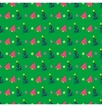 Christmas Seamless Pattern with Christmas Tree vector image vector image