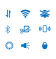 flat icon for web design or mobile app vector image