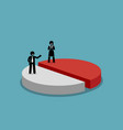 gender equality and fairness artwork concept vector image