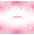 modern light honeycomb pink background imag vector image