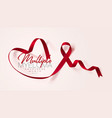 multiple myeloma awareness calligraphy poster vector image