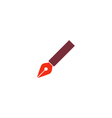 Pen Icon vector image vector image