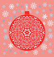 pictures for advent calendar in green and pink vector image
