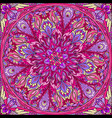 seamless mandala vector image