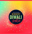 big diwali festival sale colorful background vector image vector image