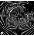 Cobweb or spider web vector image
