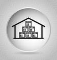 delivery icon vector image vector image