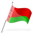flag of Belorussia vector image vector image