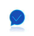 tick check mark correct accept icon vector image