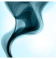 Blue smoke background vector image